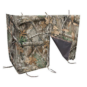 Allen Company Hunting Blind Ladder Tree Stand Cover, Realtree Edge Forest Camo