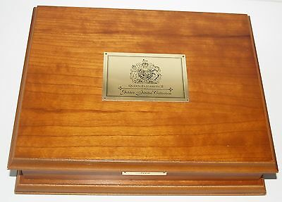 Royal Mint Queen Elizabeth II Gold Jubilee Crown Set 24 Coins Silver Proof Boxed