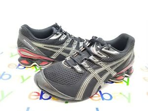 0d25a365e1e ASICS GEL-FRANTIC 5 MEN'S SIZE 11M BLACK RUNNING TRAINING SNEAKERS ...