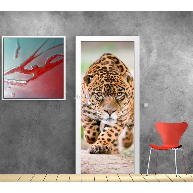 Cartel Póster Formato Puerta Jaguar 527 Arte Decoración Pegatinas