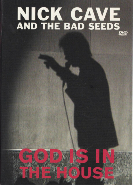 NICK CAVE AND THE BAD SEEDS God Is In The House DVD Region Free PAL NEW   SirH70