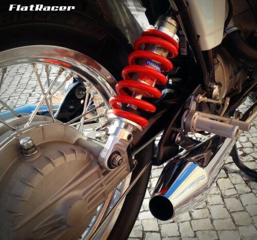 6,//7 /& Monolever R80 R100 Acero Inoxidable Varilla de vinculación De Freno Trasero BMW LWB//5