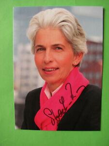 Autogrammkarte - Dr. Marie-Agnes Strack-Zimmermann - FDP - orig. autogr.
