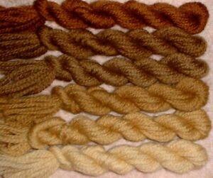 Paternayan Wool 3ply Persian Yarn Needlepoint Crewel 100 Taupe Family