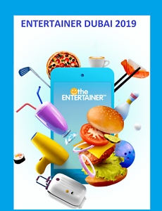 Entertainer Dubai 2019 1 week app rental incl Cheers Hotels
