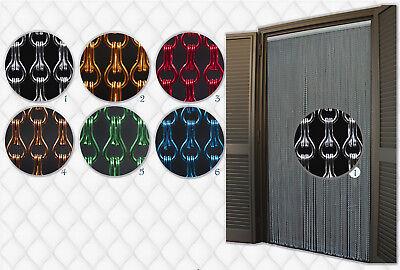 Niedrigerer Preis Mit Aluminium Türvorhänge Modell Aluminiumkette, Insektenschutz, Fadenvorhang