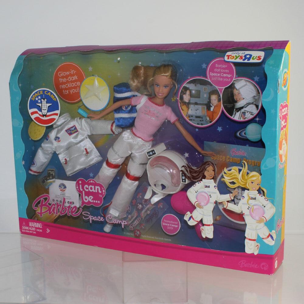 Mattel 2008 I Can Be Barbie espacio campamento Toys R Us Exclusive Nuevo