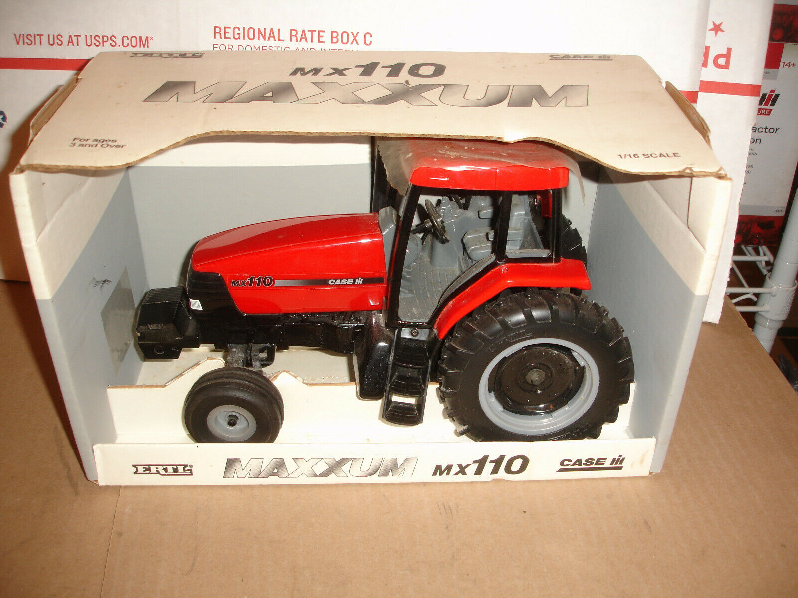 116 case ih 110 maxxum giocattolo tractor
