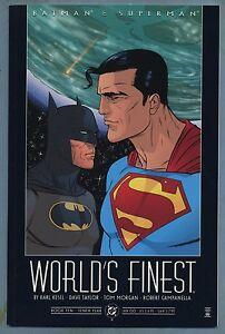 Batman-amp-Superman-World-039-s-Finest-10-2000-Prestige-Format-DC-Comics-v