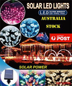 20M 200LED SOLAR STRING CHRISTMAS PARTY FAIRY LIGHTS