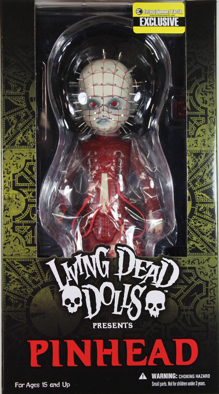 Living Dead bambolas  rosso PINHEAD azione  cifra  Mezco LDD Exclusive  per poco costoso