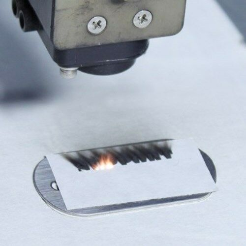 "Black CerMark LMM-6018 Metal Marking Tape 2/"" Roll"