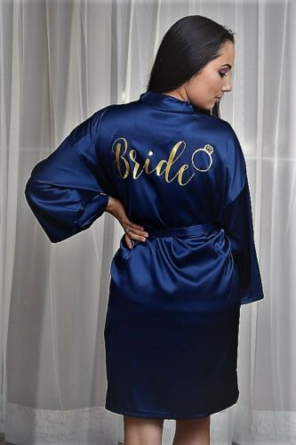 HIGH QUAILITY Customized Wedding Robe bridesmaid robe bridesmaid gift kimono