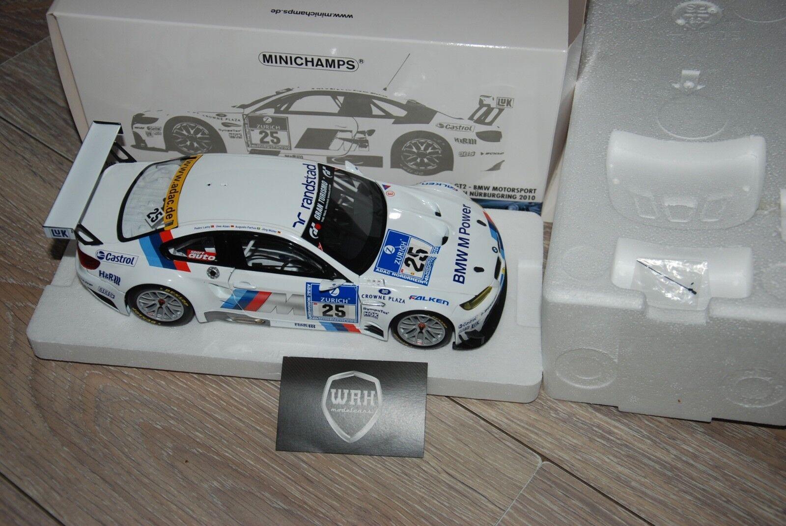 1/18 BMW M3 GT2 25 Nurnburgring Minichamps inbox 1/18 SEE INFO