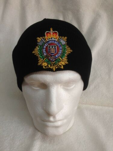 Royal Logistics Corps British Army Units Woolly Turn Up Hat Beanie