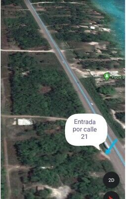 VENTA DE TERRENO EN BACALAR  EXCELENTE INVERSIÓN 2035.17 m2
