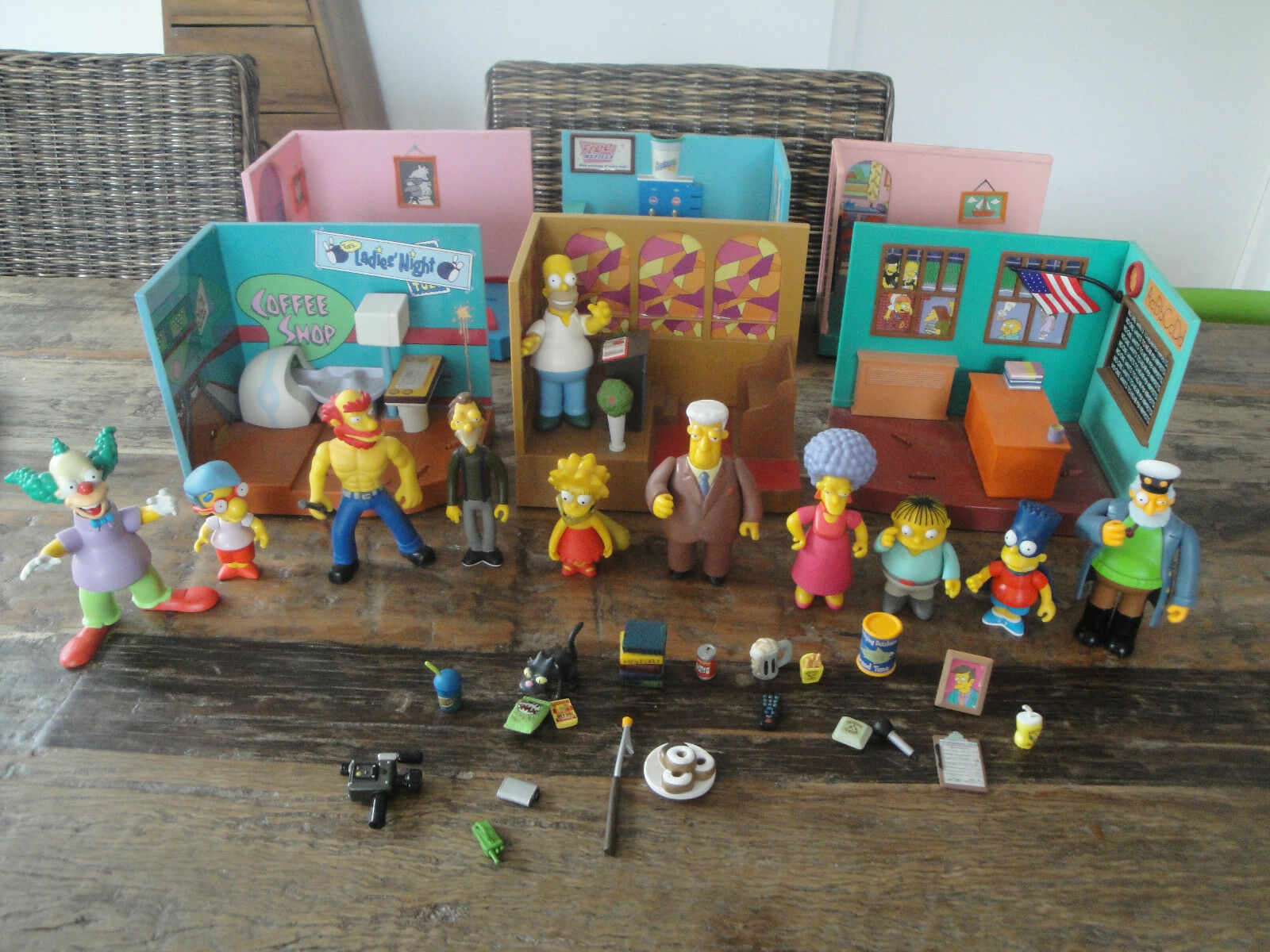 The Simpsons Welt of springfield Masse WOS environment