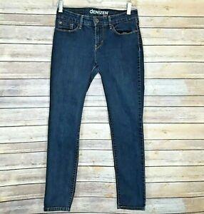 Denizen-From-Levi-039-s-Modern-Skinny-Jeans-Dark-Wash-Stretch-Size-4-S-C