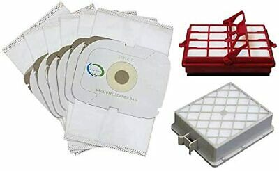 2 Filters For Aerus Electrolux P Lux Guardian Platinum Canister 6 HEPA Bags