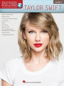 Taylor Swift 1989 Sheet Music Easy Piano Book NEW 000141999