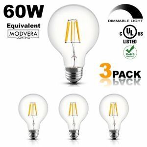 Image is loading 3-pack-Modvera-G25-LED-Light-Bulb-Decorative-