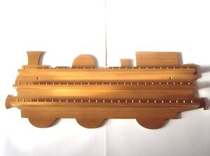75pc-Train-Wooden-Thimble-Display-Rack-Pine-huge-range-see-list