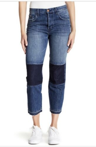 Jean revers à 30 taille taille basse Brand J Ambition Nwt UC7URnr