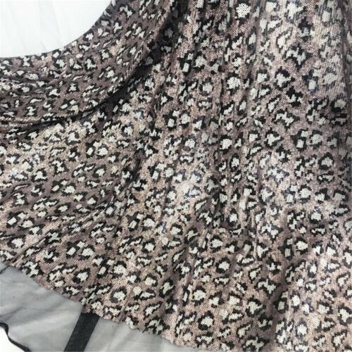 Bling Perlen Kostüm Tanzend Wear Rand Pailletten Abendkleid Netzstoff 0.5 M