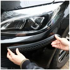 2pcs Car Bumper Protection Sticker Strips Anti Scratch Frontrear Corner Guard
