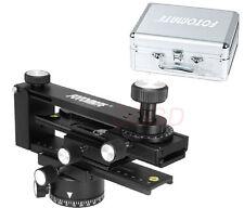 360°Panoramic Tripod Ball Head Gimbal Bracket + suitcase Kit for Canon Nikon SLR