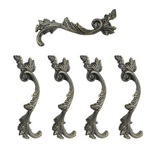 Details About 5pcsantique Bronze Bedroom Cabinet Handles 64mm Europe Vintage Style Drawer Pull
