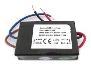 Alimentatore-Trasformatore-CV-Impermeabile-IP67-24V-12W-0-5A-Per-Strip-Led-24V