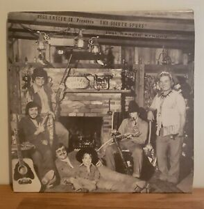 The Silver Spurs Private Press Country Vinyl LP Linesville Pa Rege Easler Marjon