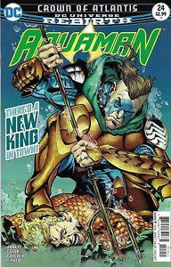 Aquaman-Comic-Issue-24-Rebirth-Modern-Age-First-Print-2017-Abnett-Easton-DC