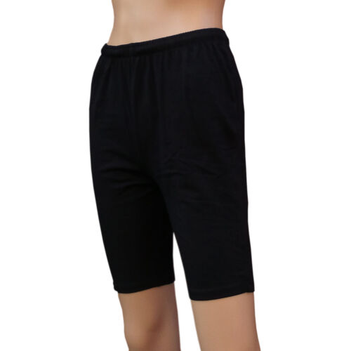 CHEX Cotton Lycra Shorts Ladies Unisex Tie Cycle Exercise Fitness Run Jogging