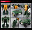 miniature 3 - Hasbro Transformers TITANS RETURN G1 IDW Windcharger Gnaw Action Figure No Box