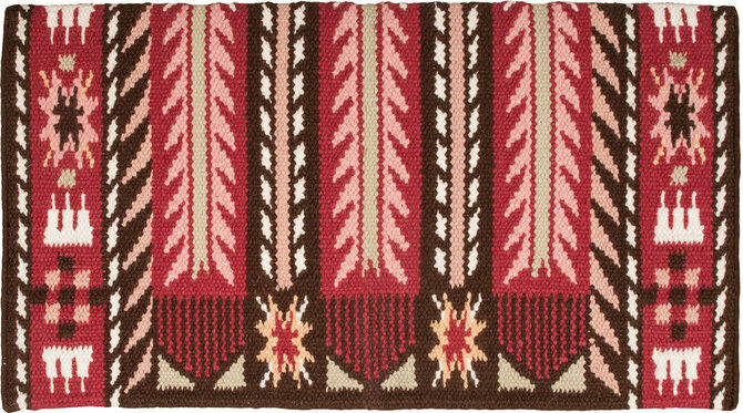 Good Medicine   Morning Star  Saddle Blanket Smoke Red Pink NEW  with cheap price to get top brand