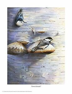 83-034-Forest-Friends-034-Songbirds-16x20-Paper-Print-by-Robert-Metropulos