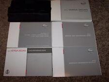 2012 Nissan Versa Owner User Guide Operator Manual S SL CVT 1.6L 1.8L 4Cyl