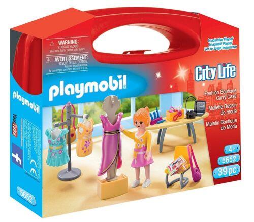 "PLAYMOBIL® City Life 5652 /""Mitnehm-Köfferchen Fashion Boutique/"" NEU//OVP!"