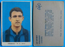 FIGURINA CARTONATA LO SPORT ITALIANO CALCIO ATD ANNI 60 - INTER - FIRMANI