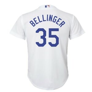 Los Angeles Dodgers Cody Bellinger  35 Cool Base YOUTH Majestic ... 0b60d7d1ed9