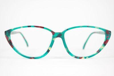 100% Vero Vintage Occhiali Vintage 184 043 55 [] 14 135 Verde/rosso Ovale Occhiali Eyeglasses Nos-mostra Il Titolo Originale Per Godere Di Alta Reputazione Nel Mercato Internazionale