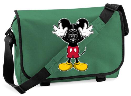 Darth Vader Mickey Mouse Mash Up Messenger Bag