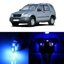 17 x Super Blue LED Interior Light Package For 1998-2005 Mercedes ML Class W163