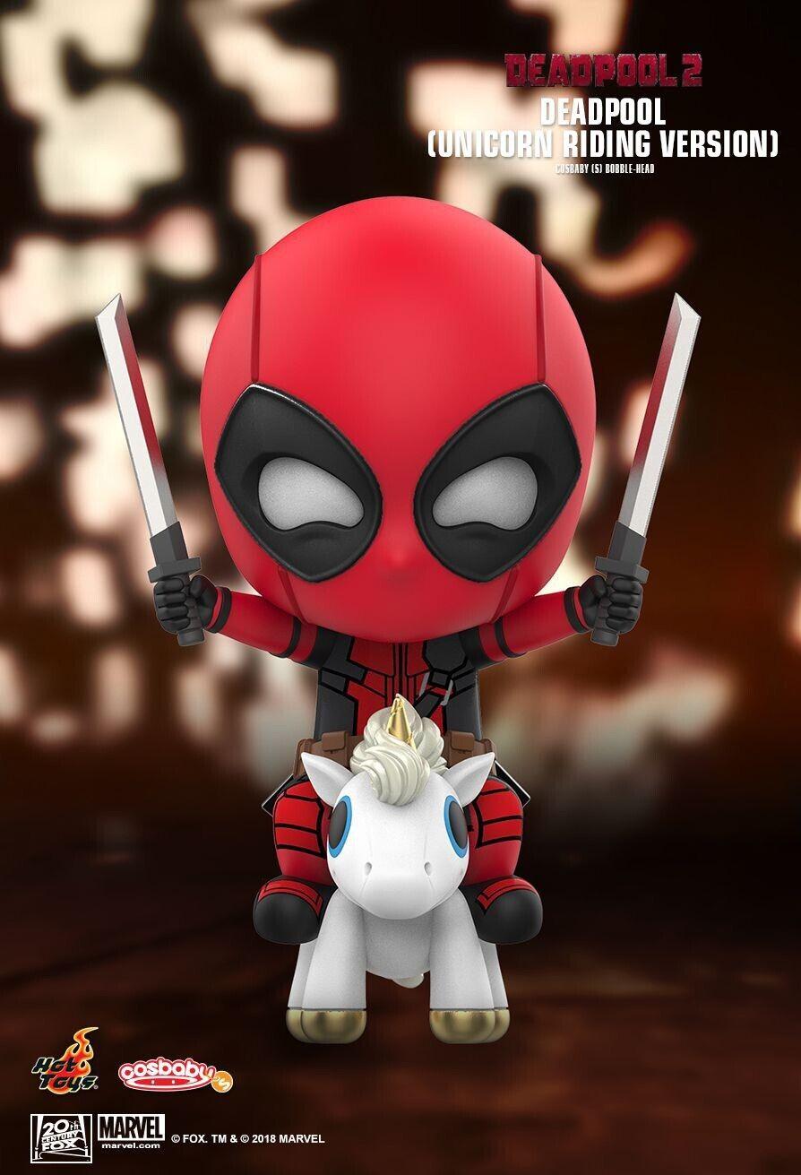 2 Toys DEADPOOL Hot-DEADPOOL (Unicorno Riding Versione) artigianale 511