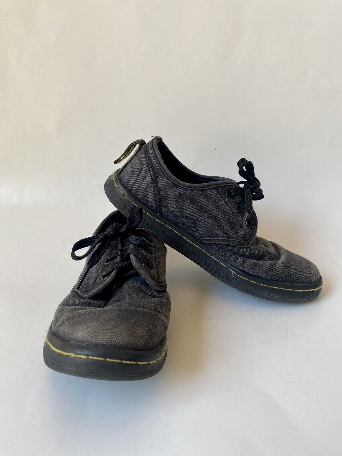 Womens Dr. Martens SoHo Casual Shoes UK 3 US 5 Black Canvas Lace Up Sneaker