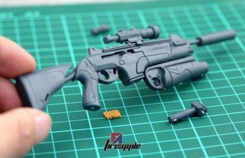"""Échelle 1//6 fusil d/'assaut ARX-160 soldat armes gun for 12/"""" Action Figure SWAT"""