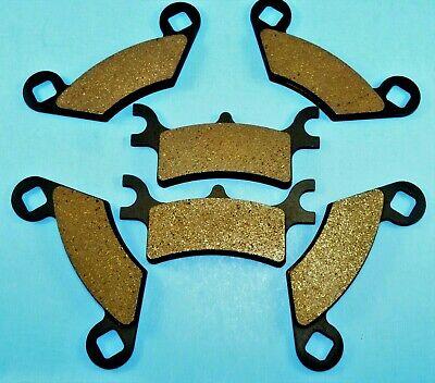 2003-05 BONDED REAR BRAKE PADS POLARIS SPORTSMAN 600 4x4