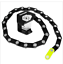 thumbnail 1 - Folding Bicycle Lock with an interlocking chain made from zinc alloy and ABS
